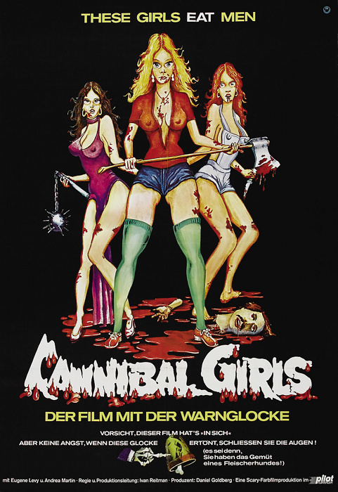 Plakat zum Film: Cannibal Girls - Der Film mit der Warnglocke