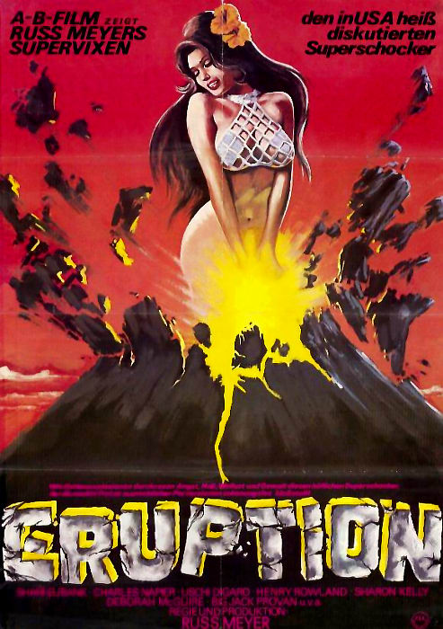 Plakat zum Film: Supervixens - Eruption